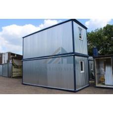 Блок контейнер БК-02  6х2,4 «Зимний» с перегородкой (тамбуром)