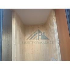 Бытовка металлическая под офис 7х2.4м с ВАГОНКОЙ
