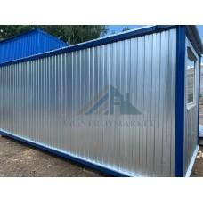 Бытовка металлическая 6х2.4м с двумя отдельными комнатами