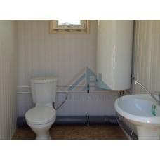 Модульная бытовка БК-09  9х2,4 с туалетом и душем