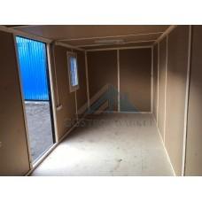 Бытовка металлическая 6х2.4м одна большая комната
