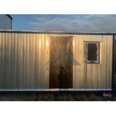 Бытовка металлическая БК-01 6х2.4м для проживания