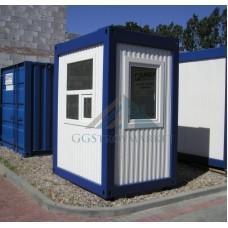 Блок контейнер, Пост охраны купить 1.5х1.5м