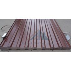 Профнастил C20 Pe  0,45 мм RAL 8017 коричневый