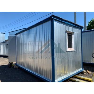 Блок-контейнер металлический БК-01 4х2,4 с двойным утепление