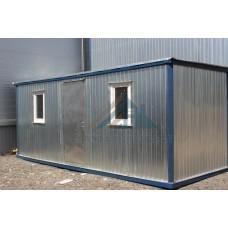 Блок-контейнер БК-03 6х2,4 «Распашонка» С ДВОЙНЫМ УТЕПЛЕНИЕМ