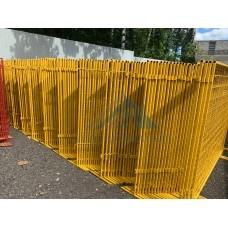 Временные строительные ограждения СПО1600х2000