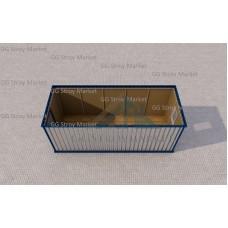 Блок-контейнер БК-01 6х2,4 «Зимний» с линолеумом