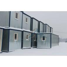 Бытовка/ Блок контейнер БК-01 утепленная 6х2.4м, окно ПВХ 600х900