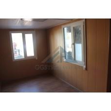 Бытовка 7х2.4м сантехническая и одна большая комната для отдыха