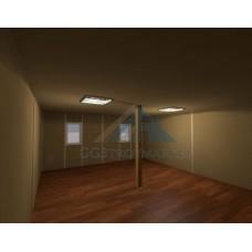 Модульное здание БКМ20 6х16,8 общежитие