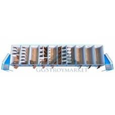 Модульное здание в 2 этажа из 20-ти шт БК 6.0м