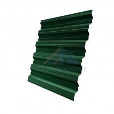 Профнастил НС35  Pe 0,8 мм RAL 6005 зеленый мох