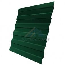 Профнастил С8 Pe 0,45 мм RAL 6005 зеленый мох