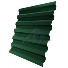 Профнастил С21  Pe 0,4 мм (эконом) RAL 6005 зеленый мох -2м.