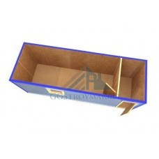 Блок контейнер БК-02 6х2,4м  СТАНДАРТ