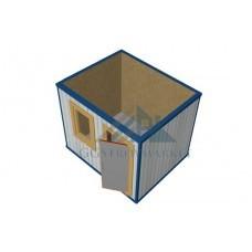 Блок контейнер Пост охраны 3х2,4 «Зимний»