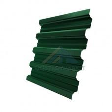 Профнастил Н75  Pe 0,7 мм RAL 6005 зеленый мох
