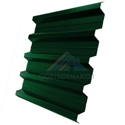 Профнастил Н60 Grand Line Optima Pe 0,7 мм RAL 6005 зеленый мох