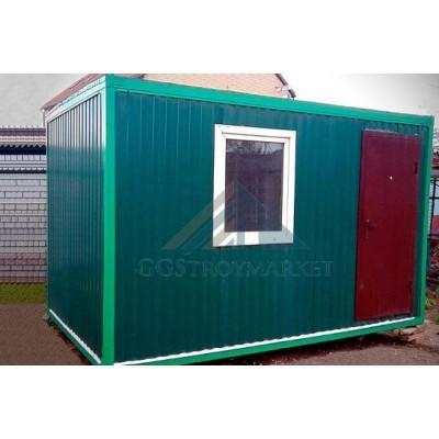 Бытовка, Блок-контейнер  БК-01  3х2,4 цветная