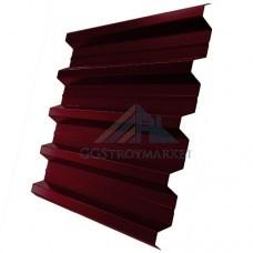 Профнастил Н60 Pe 0,7 мм RAL 3005 винно-красный