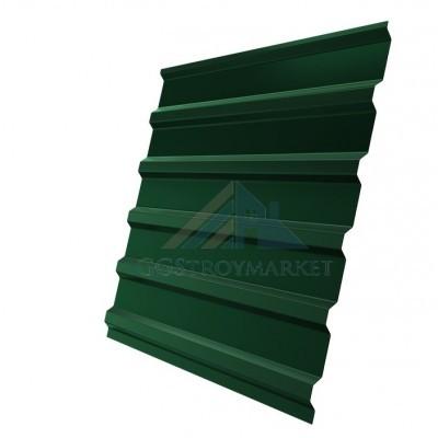 Профнастил С20 Pe 0,4 мм RAL 6005 зеленый мох двухсторонний
