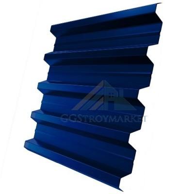Профнастил Н60 Pe 0,7 мм RAL 5005 сигнальный синий