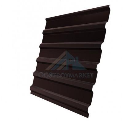 Профнастил C20 0,45 мм RAL 8017 шоколадно-коричневый