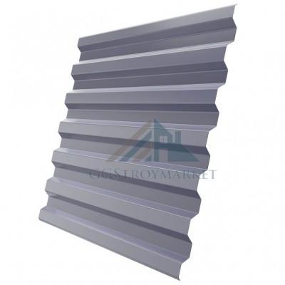 Профнастил С21 Pe 0,4 мм RAL 7004 сигнальный серый