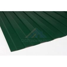 Профнастил C8   Pe 0,4 мм (эконом)  RAL 6005 зеленый мох